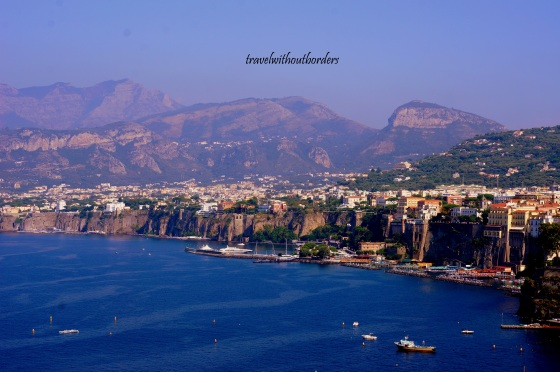 Sorrento by the cliff!