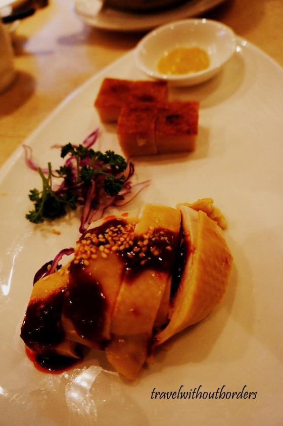 Crispy Pork Cube + Chilled Chicken