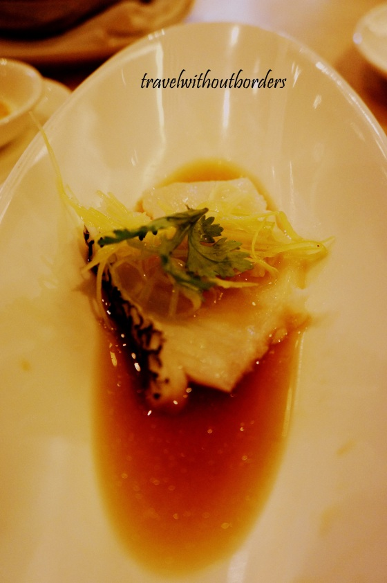 Steamed Fillet of Sea Perch