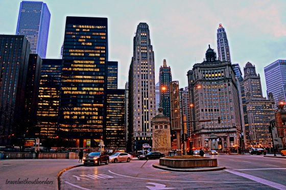 The Magnificent Mile!