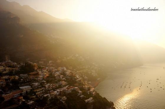 Sunrise in Amalfi Coast