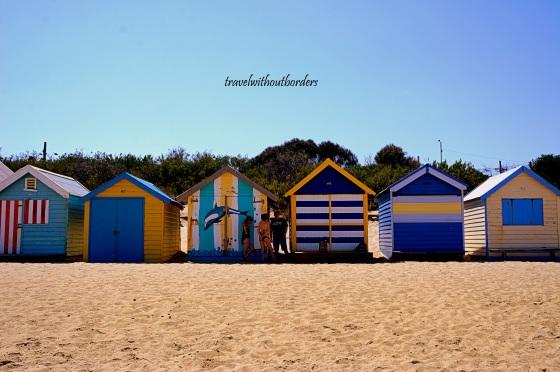 Colorful Brighton Beach!