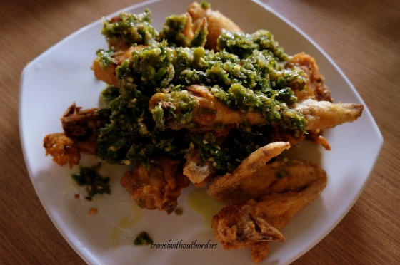 Green Chili Chicken!