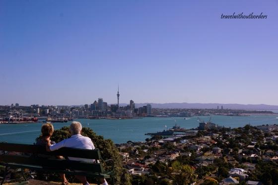 Auckland from Devonport!