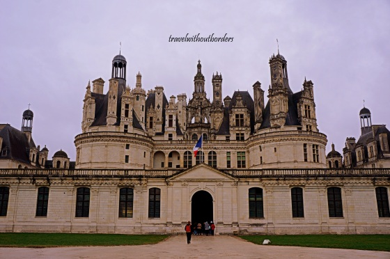 The Grand Entrance of Chambord!
