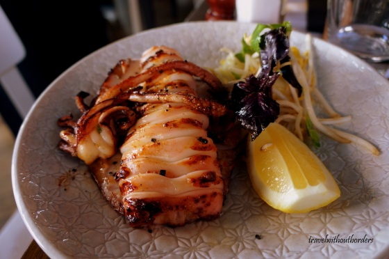 Grilled Cuttlefish!