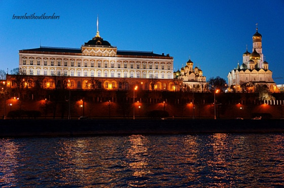 The Kremlin At Night!