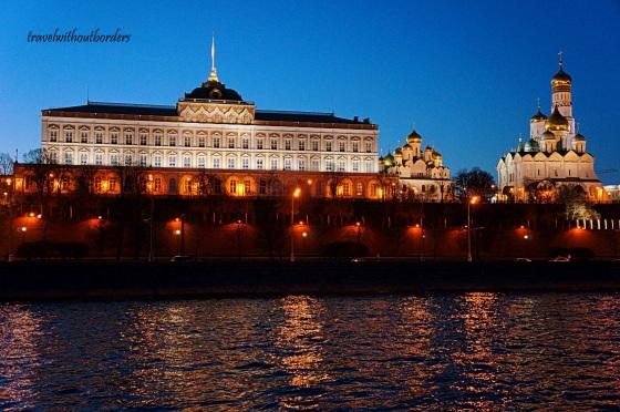 The Kremlin At Night!