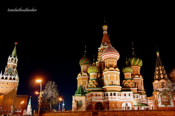St Basil At Night!