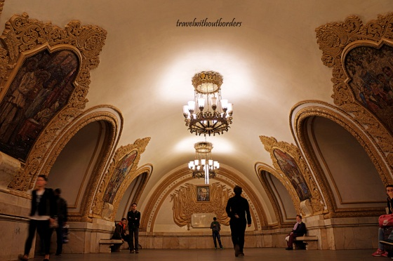 Kievskaya Metro Station!