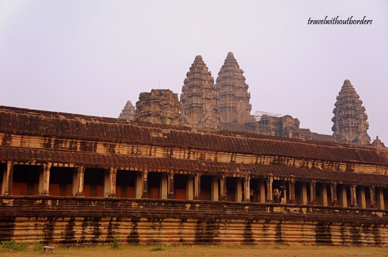 Angkor Wat From Outside!
