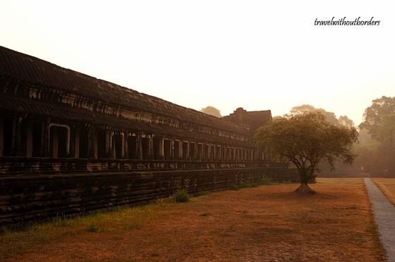Side View of Angkor Wat!