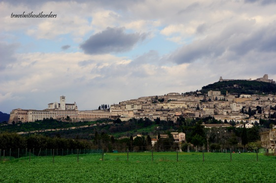 Assisi From Far!
