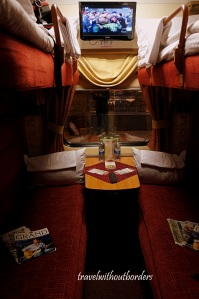 Overnight Train from St Petersburg to Russia