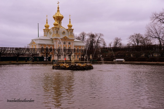 Peterhof Palace!
