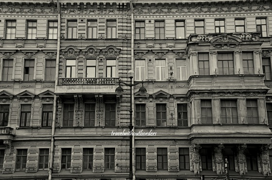 Street of St Petersburg