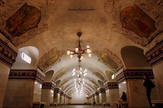 Kievskaya Metro in Moscow