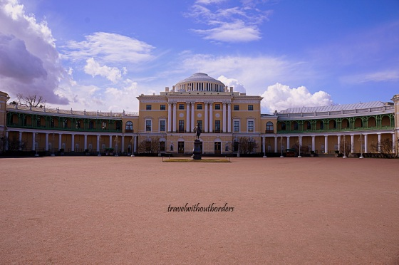 Pavlovsk, the Private Palace of the Tsar Paul I