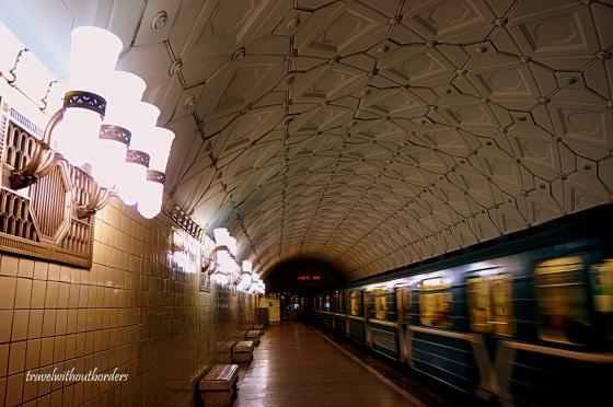Sportivnaya Metro Station