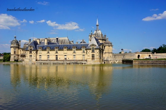 Side View of Chateau de Chantilly
