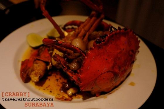 Crab in Beatus Restaurant!