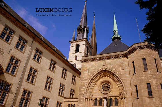 Luxembourg Cathedrale Notre-Dame!