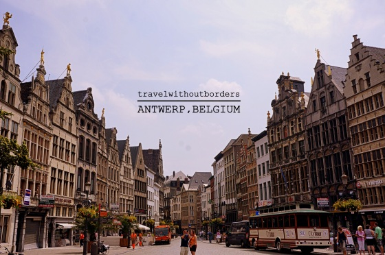 One fine day in Antwerp!