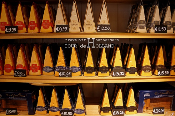 Assortment of Cheeses in Volendam!