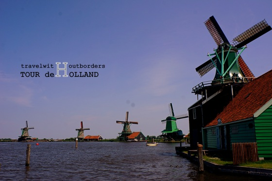 Windmills in Zaanse Schans