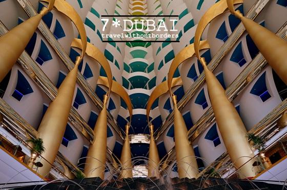 Burl Al Arab - The Lobby