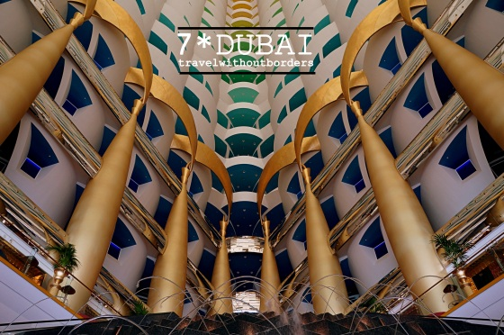 Burl Al Arab - The Lobby
