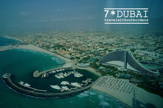 Jumeirah Beach Hotel From The Top
