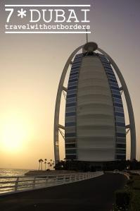 Burj Al Arab - The Sunset