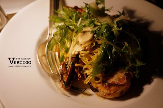 Linguini with Andaman prawn