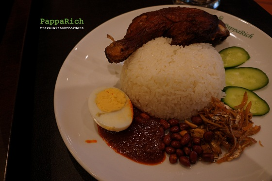 Nasi Lemak with Fried Egg
