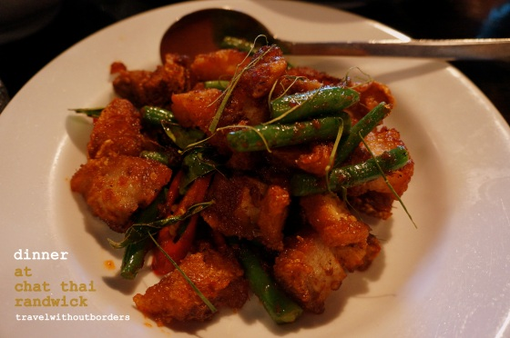 Stir Fried Crisp Pork Belly