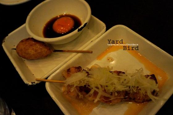 Meat Ball + Pork Belly Yakitori