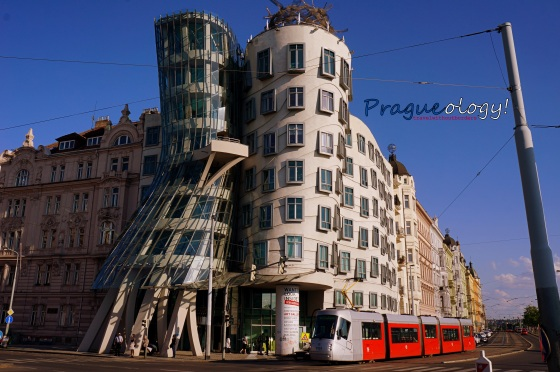 The Fred And Ginger Dancing Building
