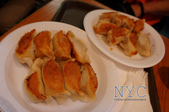 Chive & Pork Fried Dumplings