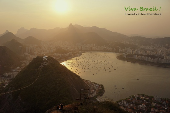 Sunset View From Sugar Loaf