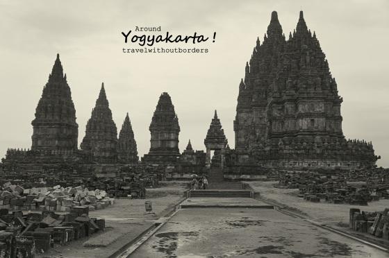Rainy December in Prambanan Temple!