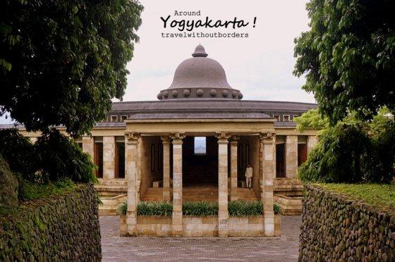 Spot Borobudur from here!