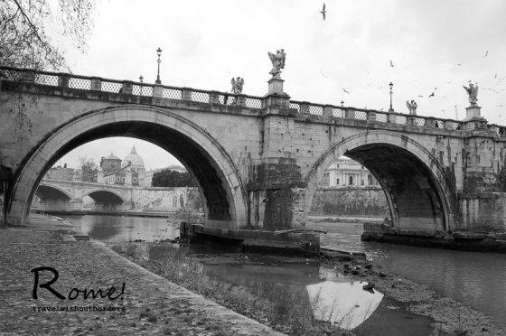 Ponte Sant' Angelo + Vittorio Emanuela II