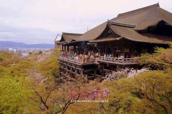 Kiyomizu-dera Temple!