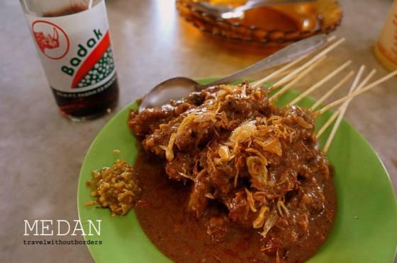 Sate Kacang, Jalan Asia 47 C Medan