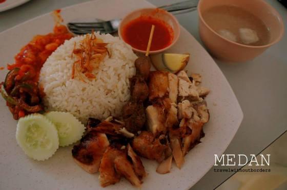 Nasi Ayam Asen, Jln Sumatera No 68F 86, Medan