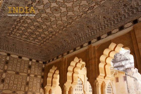 The Mirror Room In Amber Fort!