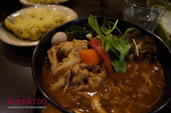 Pork Soup Curry!