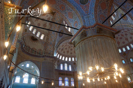 The Blue Mosque!