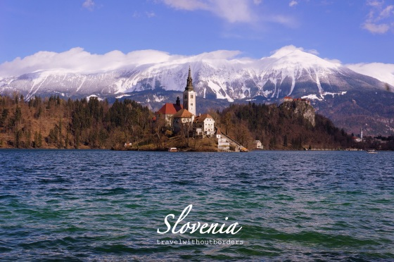 Snow-capped Julian Alps!